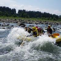 ピースアイランド 信濃川ラフティングツアー の写真 (3)