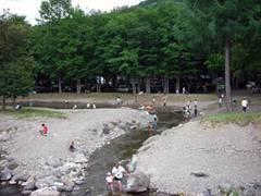 丸瀬布森林公園いこいの森オートキャンプ場