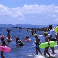 三河大島 海水浴場