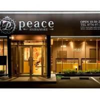 ヘアーアンドメイク ピース(HAIR&MAKE peace)