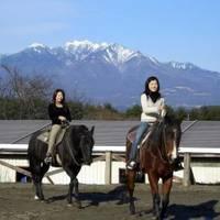 ホワイトサドル 甲斐駒 ホーストレッキング(乗馬)
