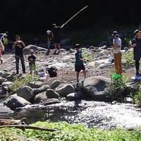 狩川渓谷ます釣り場