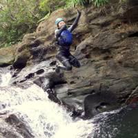 西表島ゆくる 西表島シャワークライミング・キャニオニングツアー