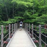 王滝渓谷(おうたきけいこく)