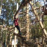 森のアスレチックで大冒険!ふなばしアンデルセン公園に行ってきた。