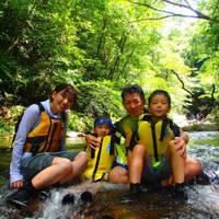 沖縄プロデュースカマダ やんばる リバートレッキング&キャニオニングツアー